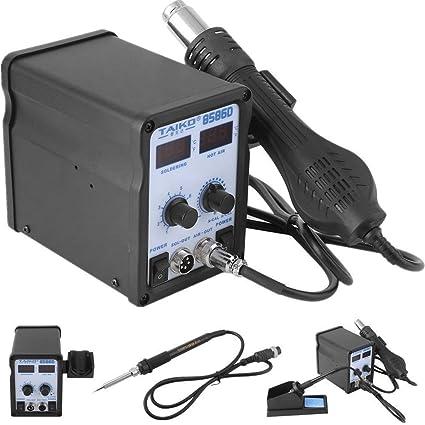 yesper taikd85860 450 W 220 V 50 Hz 2 en 1 soldadura Temperatura estación de soldadura