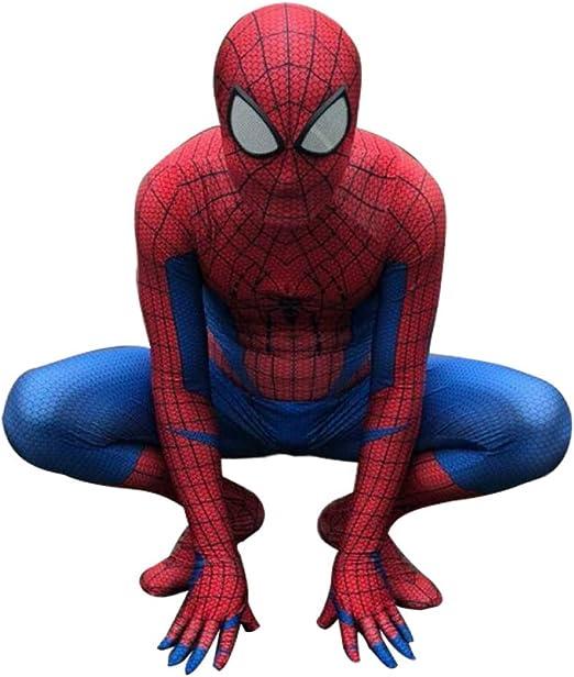 YIWANGO Adulto del Niño Disfraz De Spiderman Halloween Bola De ...