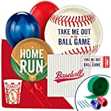 Baseball Time Party Supplies - Value Party Pack