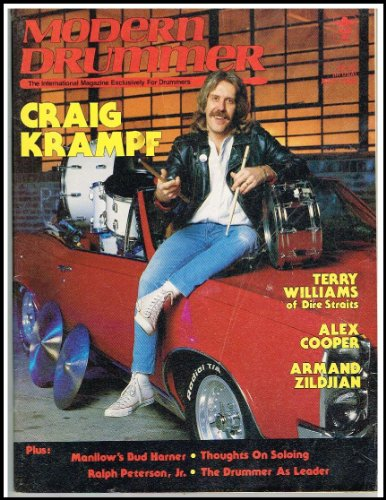 Modern Drummer Magazine - Modern Drummer Magazine (May 1986) Craig Krampf / Terry Williams of Dire Straits / Alex Cooper / Armand Zildjian