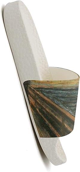 DoDoLa Sushi Pattern Paper Womens Slides Sandal Designer Foam Flip Flops