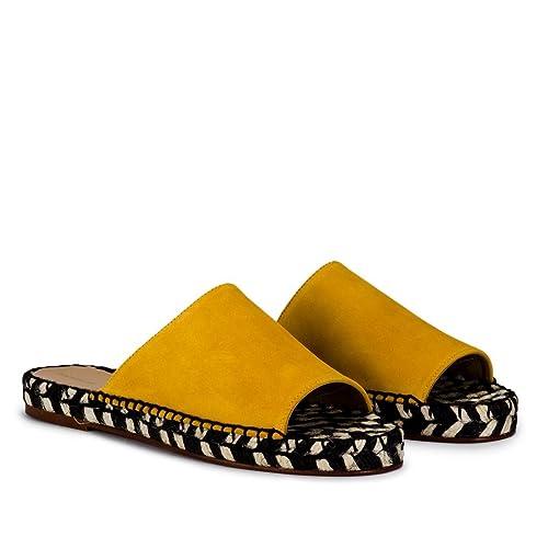 Anonymous Copenhagen Lagina Amarillo - Sandalias Mujer - Amarillo, Amarillo, 40: Amazon.es: Zapatos y complementos