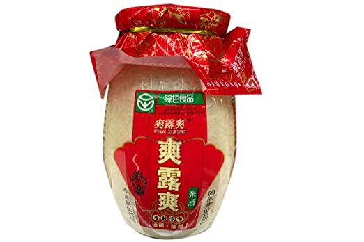 Shuang Lu Shuang - Vino de arroz Jiu Niang: Amazon.com ...