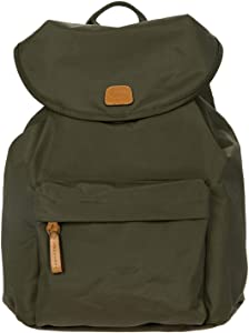 Bric's Women's X-Bag/x-Travel 2.0 City Backpack, Olive, One Size