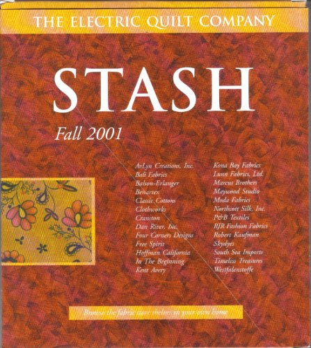 Stash Fall 2001 Digital Fabric Swatches From the Electric Quilt Company (Quilt Design Software)