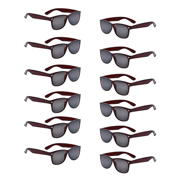 Amazon.com: 12 paquetes al por mayor de gafas de sol de ...