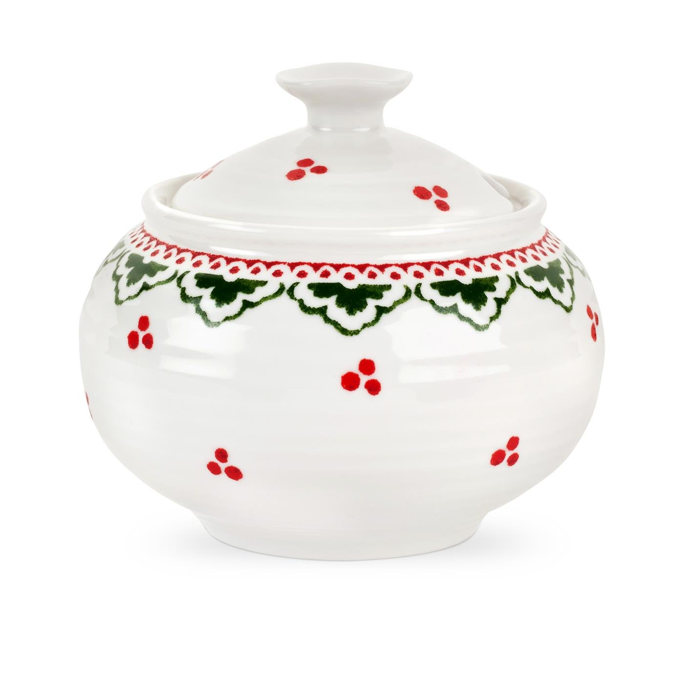 Sophie Conran (For Portmeirion) Christmas 11oz Covered Sugar Dish - Sugarplum Fairy CPXB76829-XG