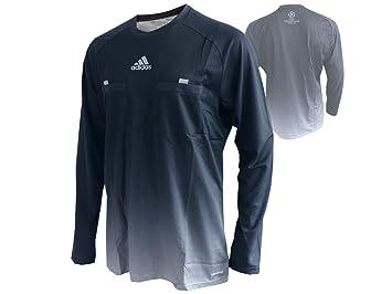 Camiseta de árbitro de la Champions League Adidas REF 14 UCL, gris, color grauschwarz, tamaño medium: Amazon.es: Deportes y aire libre