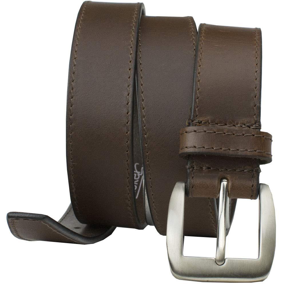 40\ Certified Nickel Free Casual Brown Belt