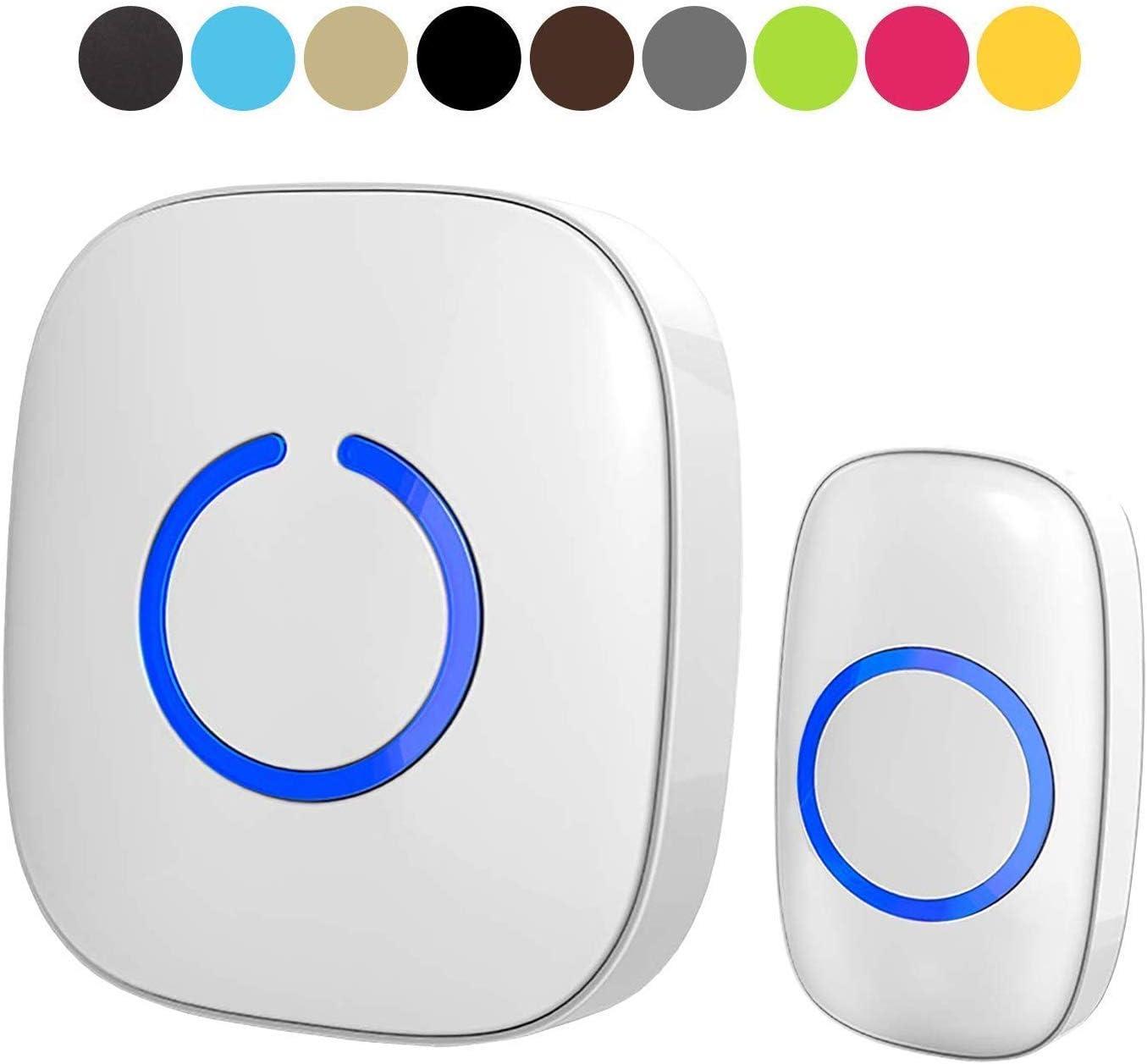 White Wireless doorbell