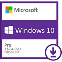 Microsoft Windows 10 Professional 32/64 Bits FPP- Download