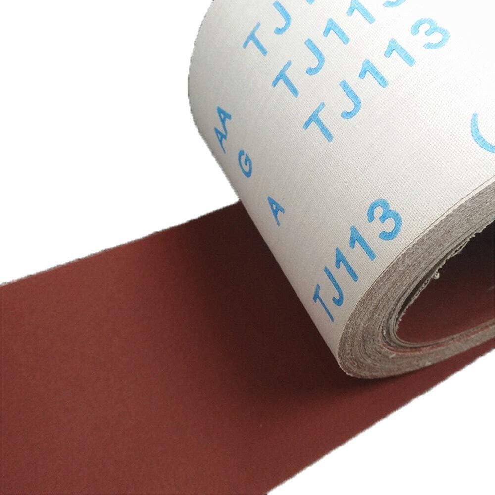 Pon/çage Rouleau De Tissu /Émeri Rouleau De Papier Abrasif Grain 80 Abrasifs Pour Pon/çage Polissage