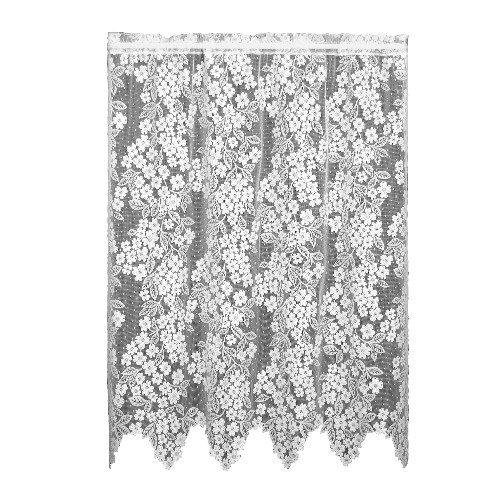 Heritage Lace Dogwood 55-Inch by 63-Inch Drop Ecru Panel ()