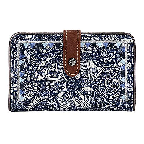 Sakroots City Medium Wallet, Navy Spirit Desert for sale  Delivered anywhere in USA