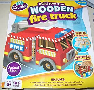 Build Your Own Wooden Fire Truck