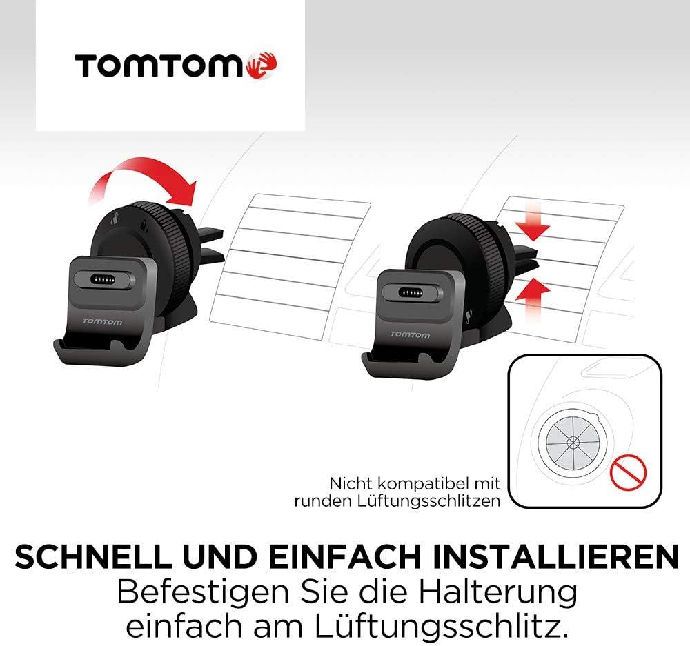 Tomtom Aktiv Lüftungsschlitzhalterung Für Alle Tomtom 5 Und 6 Go Und Go Professional Modelle Siehe Kompatibilitätsliste Unten Navigation