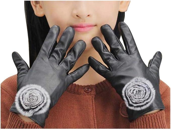 06 Black Temptation Multicolor Winter warme Strickhandschuhe Pl/üsch gef/ütterte Handschuhe f/ür Kleinkind M/ädchen Jungen