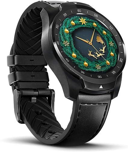 Amazon.com: TicWatch Pro - Reloj inteligente con Bluetooth ...