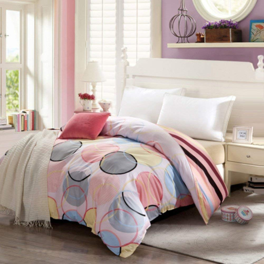 Yunyilian ベッドの裏地の綿のキルトカバーシングルピースカバー、シングルダブルベッドの項目 (Color : 135x200cm(53x79inch), サイズ : E) B07QQNBFVZ