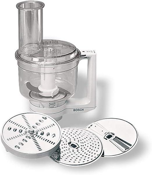 Bosch Procesador de Alimentos MUZ5MM1 - Accesorio para Robot de Cocina MUM5, Acero Inoxidable: Amazon.es: Hogar