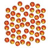SWAROVSKI ELEMENTS Crystal Flatback Rhinestones #2058 SS20 Fire Opal (50)