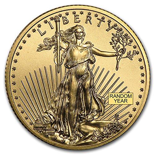 1/4 Eagles (1986 - Present 1/4 oz Gold American Eagle BU (Random Year) Gold Brilliant Uncirculated)