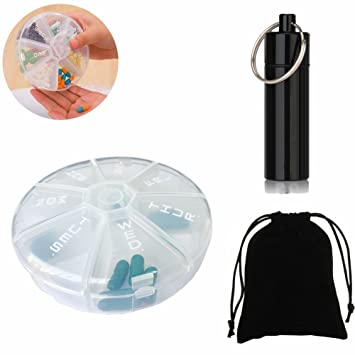 7 Day Pill Box Round Large Wiring Diagrams