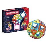 Magformers 701005 Forme Geometriche Elementari - 18 Quadrati e 12 Triangoli, Multicolore