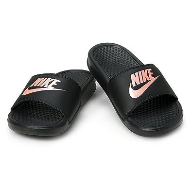 0deb375a39dc ... slide sandal black white 87020 c379c  promo code for nike 343881 007 womens  benassi jdi print sandal black 5 b us 27581