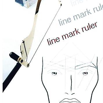 Eyebrow Mapping Tool Symetric Henna Brow Drawing Marking Ruler
