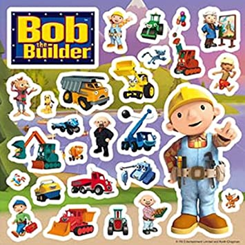 Bob The Builder Wall Stickers   Pack S3 Design Ideas
