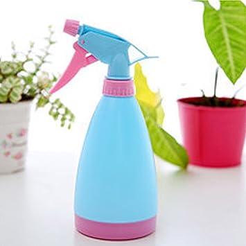 LZHA Nueva Mano Vacía Gatillo Pulverizador De Agua Planta De Limpieza De Botellas De Plástico Jardinería,Blue: Amazon.es: Deportes y aire libre