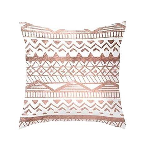 Fundas De Cojines, ❤️Xinantime Funda de almohada geométrica de textura de mármol Fundas de colchón Sofá Decoración (❤️Multicolor D)