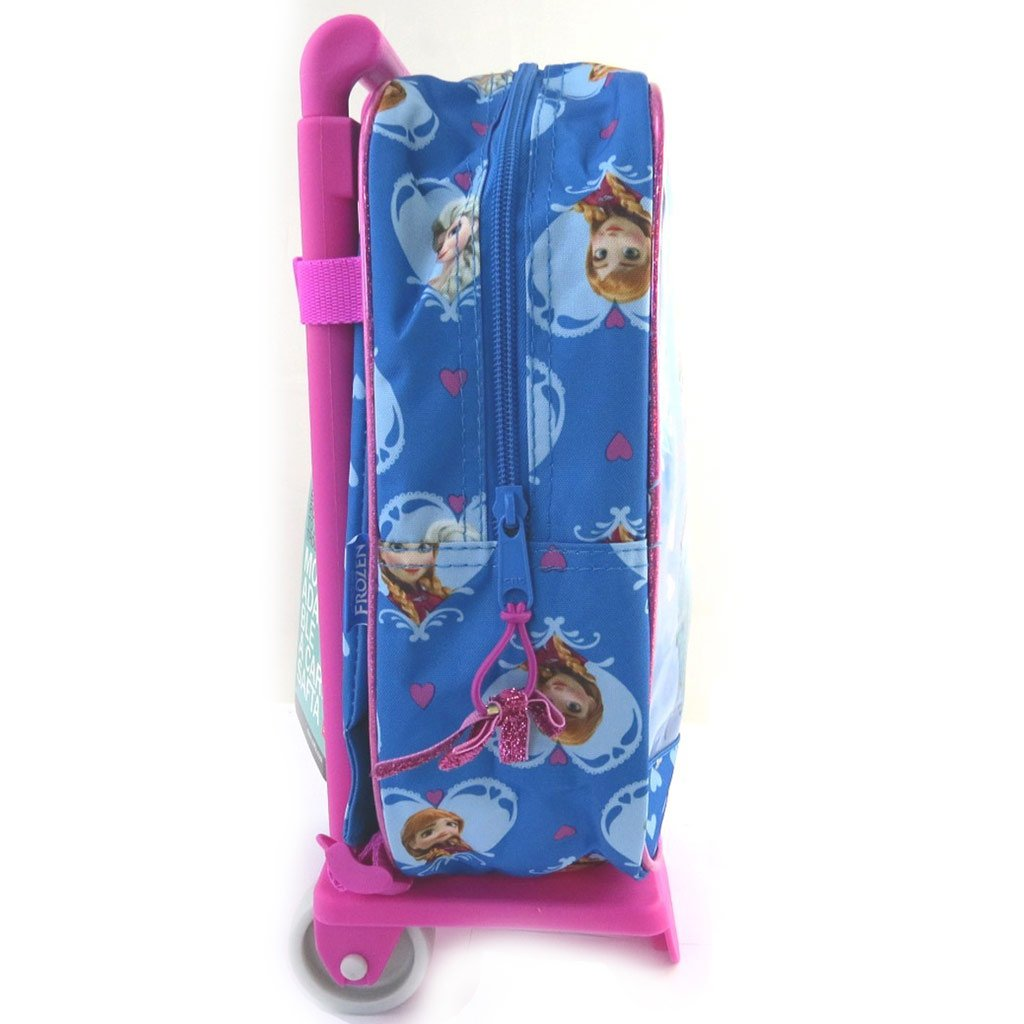 Amazon.com: Small school trolley Frozen - Reine Des Neigesblue pink (27x23x12 cm (0.00x9.06x4.72)) .: Clothing