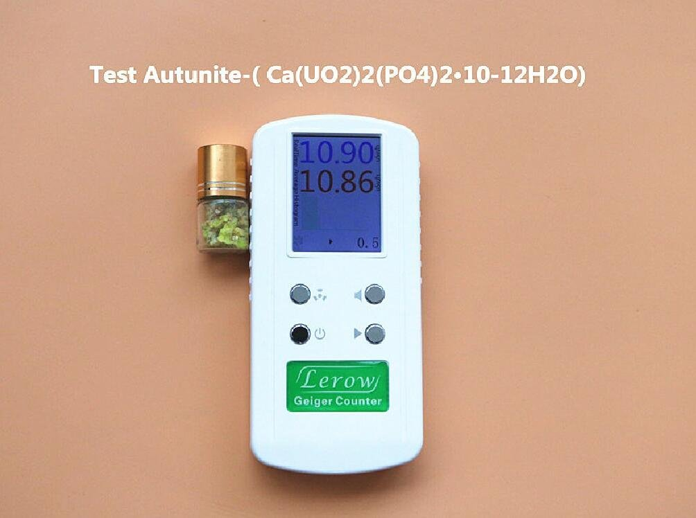 LR4011 Professional Hand held Geiger Counter Radiation Detector Dosimeters Nuclear Radiation Geiger Gamma, Beta and X-Rays Radiation Detector