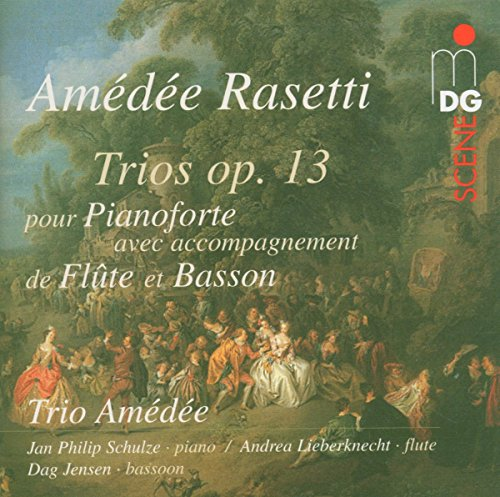 Trios Op. 13 for Piano, Flute & Bassoon