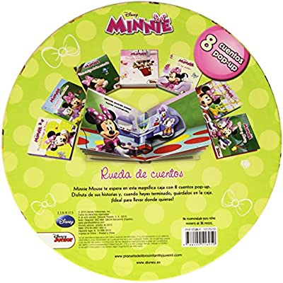 Minnie Mouse. Rueda de cuentos: 8 cuentos pop-up Disney. Minnie ...