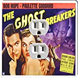 Rikki Knight 3710 Outlet Vintage Movie Posters Art Ghost Breakers 2 Design Outlet Plate