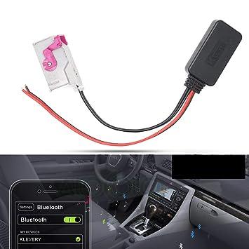 Bluetooth RNS-E Navigation Aux Input Adaptor 32-Pin For Audi A3 A4 A6 A8 TT