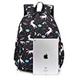 Printed Backpack for Teen Girls, Yousu Unisex
