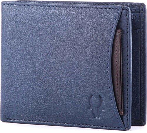 WildHorn Blue Leather Men's Wallet