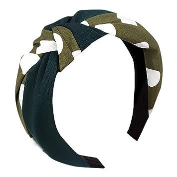 Damen Breites Haarband Yoga Haarreif Knoten Stirnband Haarreifen Haarschmuck