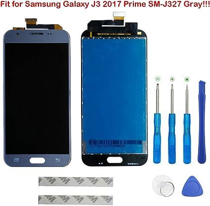 Pantalla LCD para Samsung Galaxy J3 2017 Prime SM de j327 j327r4 j327t j327t1 J3 Amp