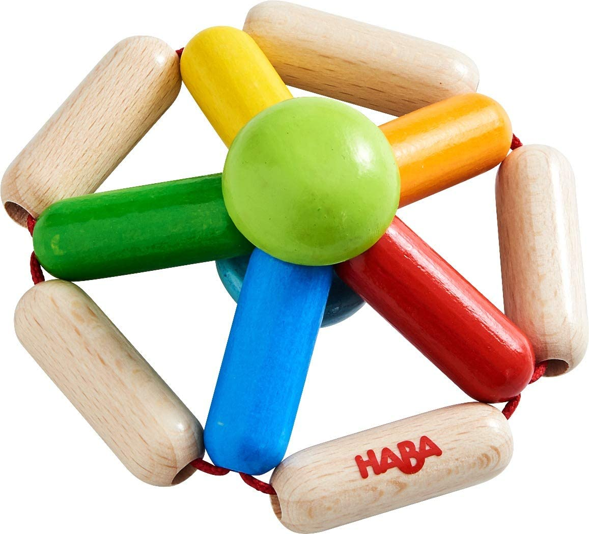 Made in Germany Wood HABA Clutching Toy Color Carousel