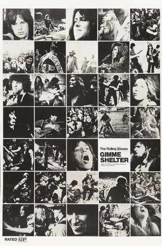 The Rolling Stones Gimme Shelter Movie Poster (1970)