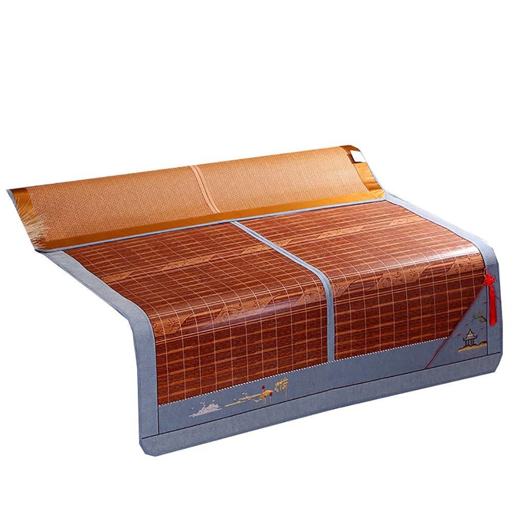 マットレス 折りたたみ竹マット冷却マットレス、夏冷却寝台用寝具パッド (Size : W1.8mx2.00m) B07TDH5MND  W1.8mx2.00m