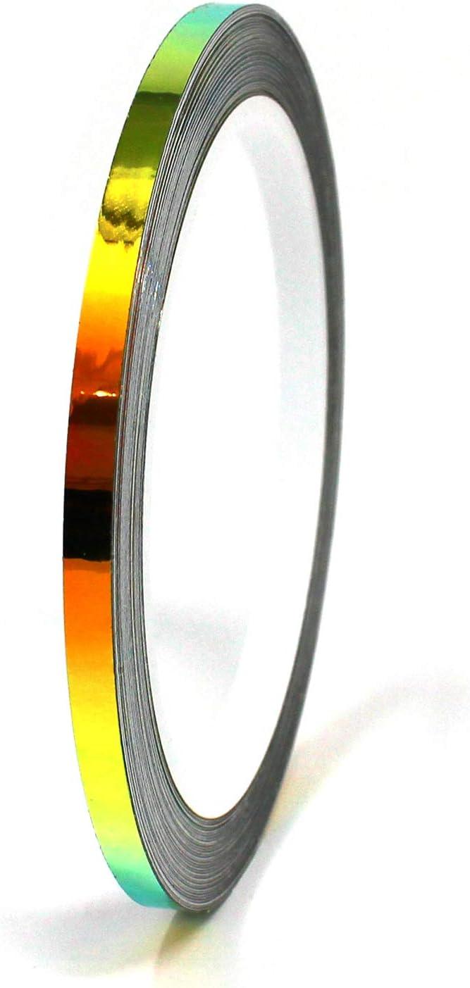 Lot de 10 m de film /à effet hologramme pour voiture mod/élisme moto