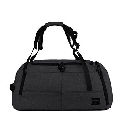 13f94a4fb64 Amazon.com   Tuguan Large Capacity Lightweight Waterproof Bag with Code  Lock Shoes Pouch for Travel Sport Gym and School (black)   Sports Duffels