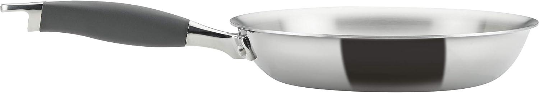 four et lave-vaisselle Set de 5 pi/èces Induction - Garantie /à vie 22//30 cm Aluminium anodis/é dur Po/êles Premium anti-adh/ésives Anolon 85071 Lot de 2 Po/êles Synchrony