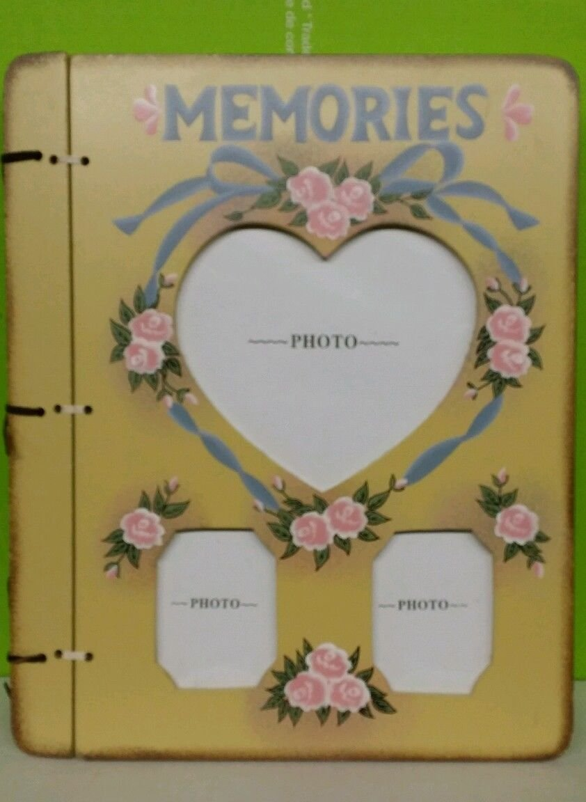 Wooden Photo Album 4 X 6 Hold 200 Photos